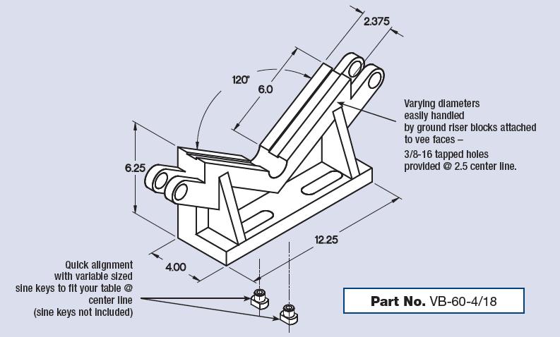 Heavy duty cast iron to reduce vibration